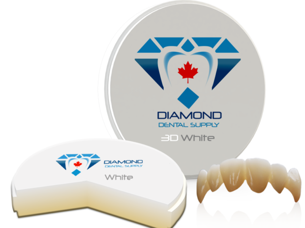 DDS 3D White Zirconia Blocks